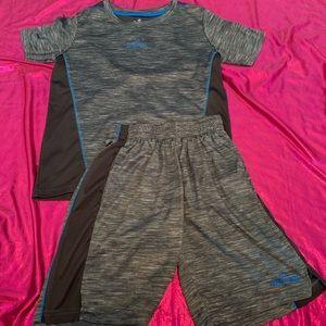 boys shirt and shorts set – small